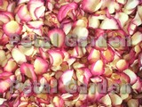 Cherry Vanilla Freze Dried Rose Petals
