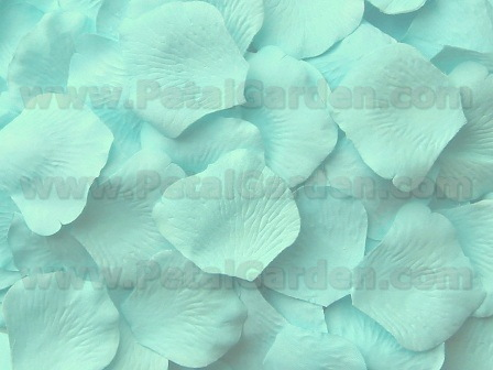 Breeze silk rose petals