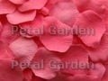 Bubble Gum Silk Rose Petals
