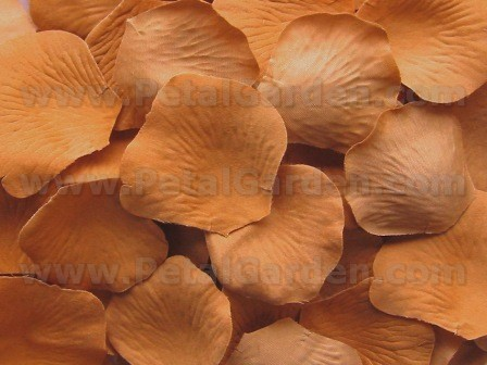 Maple silk rose petals