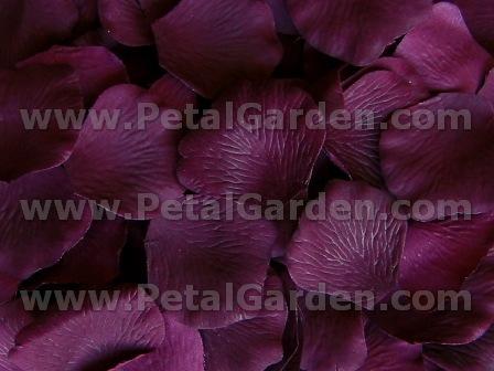 Petal garden silk rose petals plum plum silk rose petals mightylinksfo