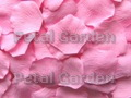 Cotton Candy Silk Rose Petals