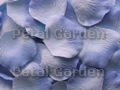 Light Blue Silk Rose Petals